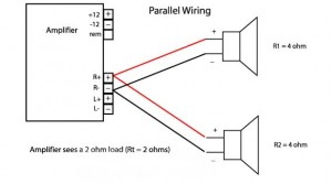 woofer diagParallel 300x167 subwoofer wiring diagrams for car audio bass speakersnational auto 4 Ohm Subwoofer Wiring Diagram at love-stories.co