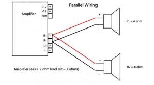 Bridged Subwoofer Wiring Diagram from www.nationalautosound.com