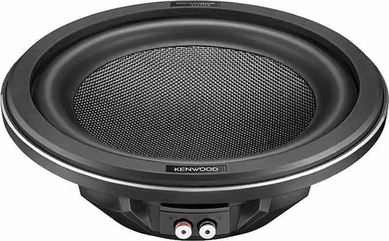 Kenwood eXcelon Shallow Mount 12″ Subwoofers