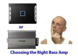 Choosing a car bass amplifier