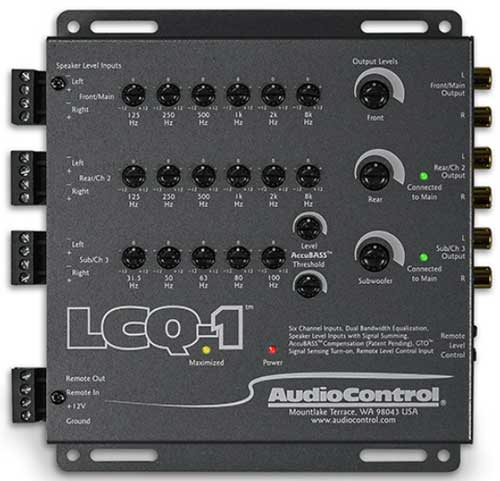 Audio Control LCQ-1 EQ & Line Out Converter • National Auto