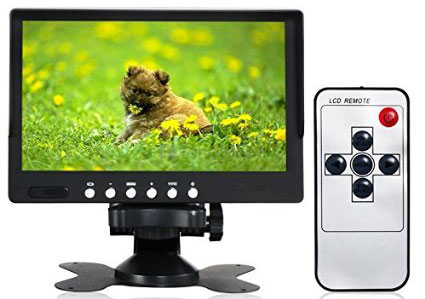 7 inch video monitor with stand