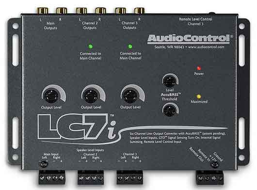 Audio Control LC7i Line Out Converter Signal Processor