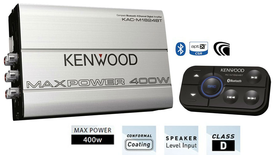 Kenwood KAC-M1824BT Bluetooth amplifier