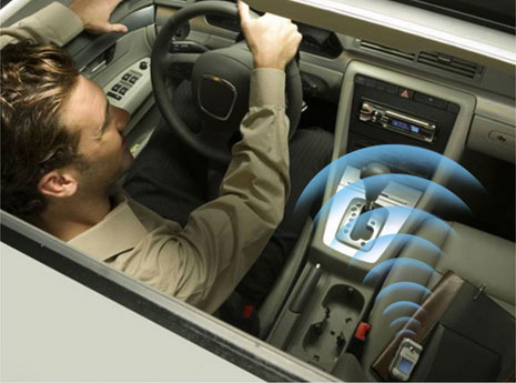 Bluetooth for your car radio