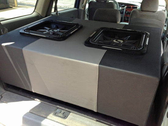 custom built speaker boxes for car audionational auto sound security. Black Bedroom Furniture Sets. Home Design Ideas