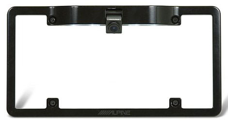 Alpine Backup Camera License Plate Mounting Kit