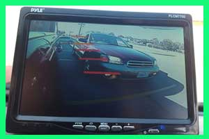 Video of traffic in Blind Spot Camera