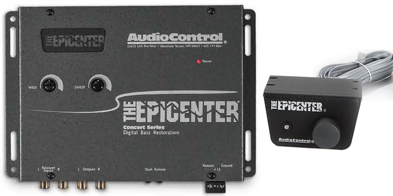 Audio Control Epicenter with Knob