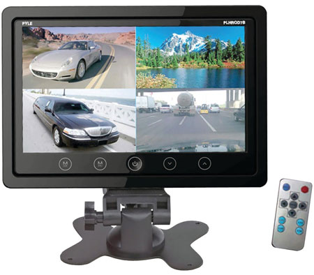 Quad View Camera Monitor