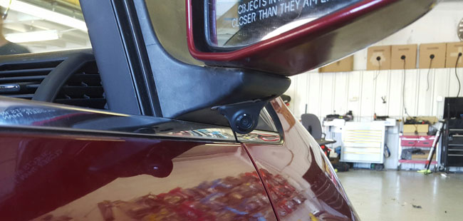 Blind Spot Camera Amp Monitor Installed Kansas Citynational