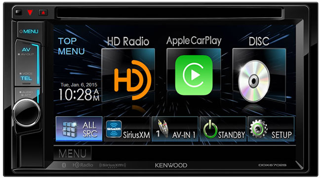 Kenwood Car Video DDX6702S