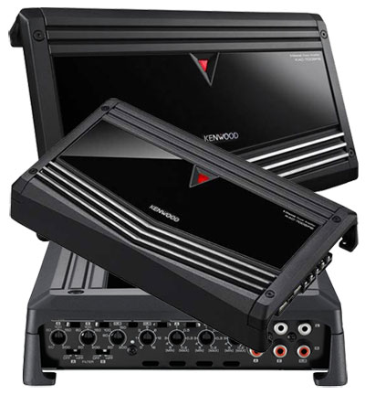 Kenwood Car Amplifiers