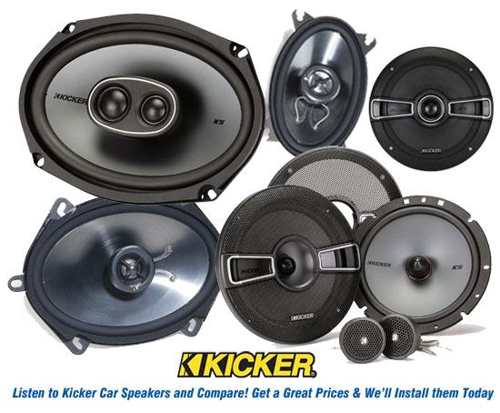 Kicker Speakers