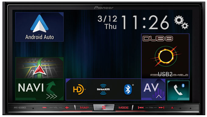 Pioneer Avic 8200NEX In dash navigation receiver