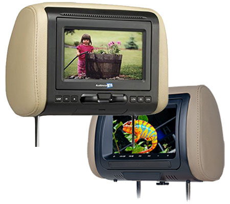 Headrest DVD Monitors