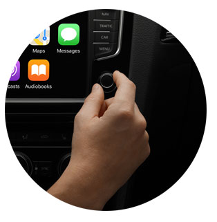 Apple Car Play Knobs