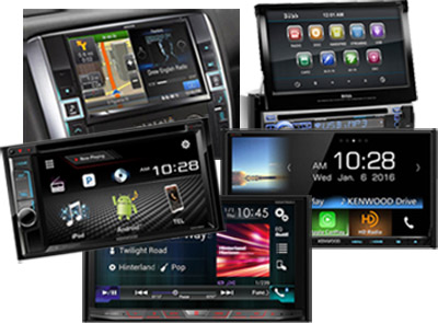 Touch Screen Car Stereos with Video