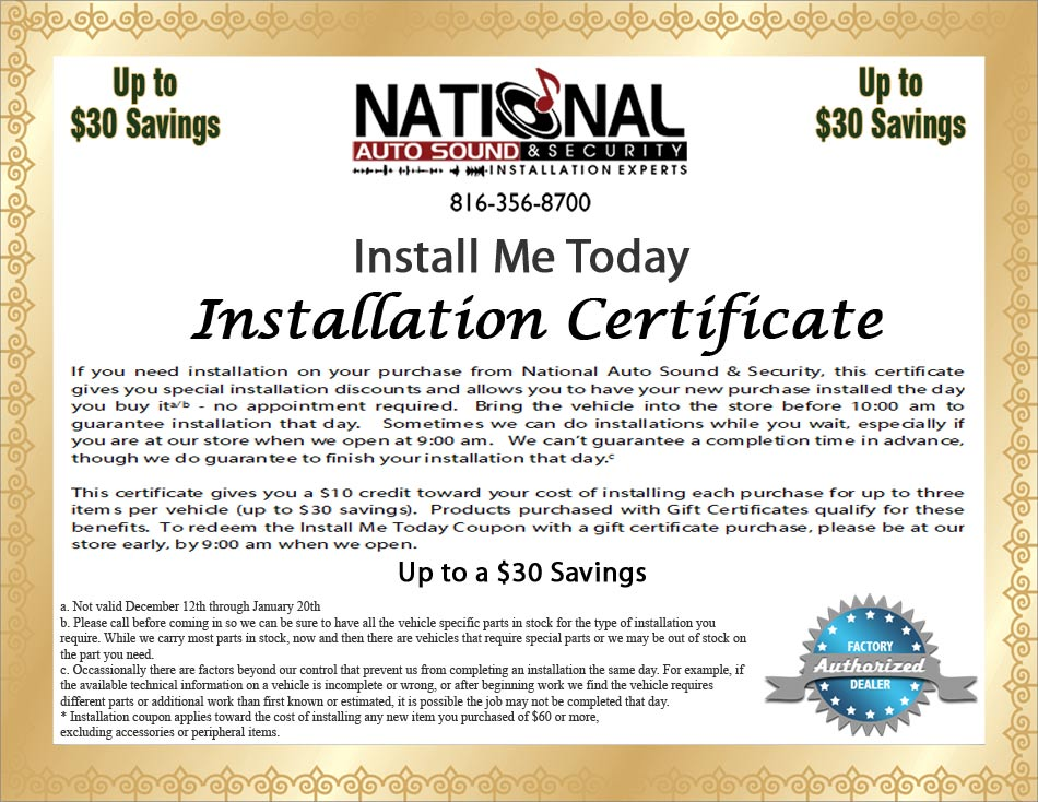 Install Me Today Coupon