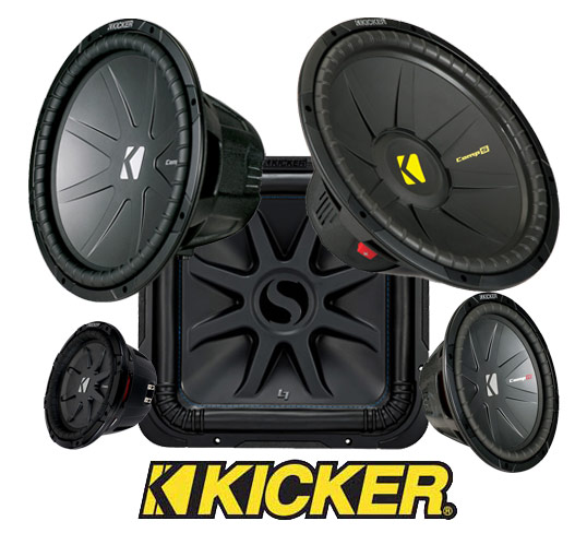 Kicker Car Speakers Subwoofers Amps On Display In K C National