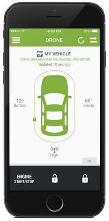 Drone Mobile app