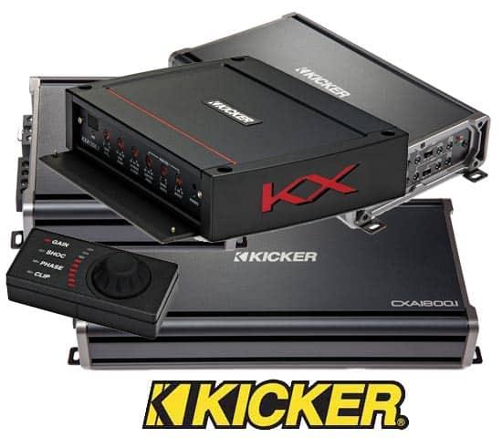 Kicker Car Amps