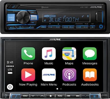 Alpine radios